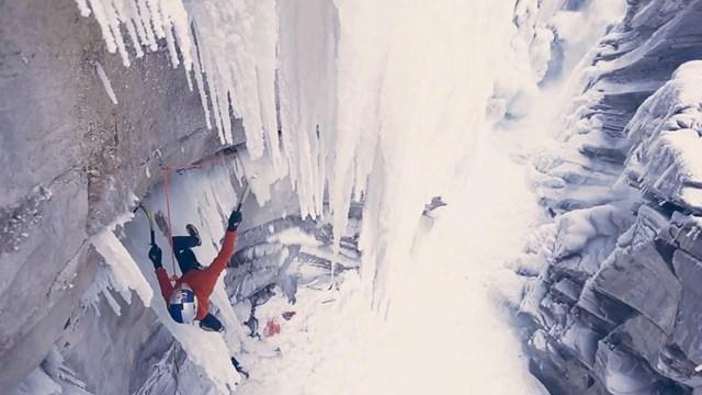 Epictv Video Climbing Frozen Water In The Rockies Sub