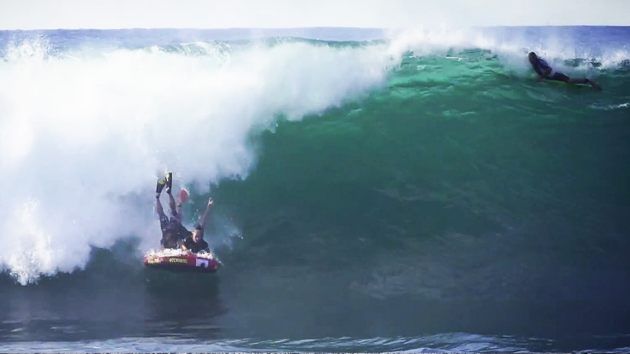 Epictv Video Inflatable Hotdogging Jaws And Surfing