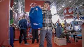 Alex Megos Makes A Cameo – Day Two At ISPO – Vlog 36
