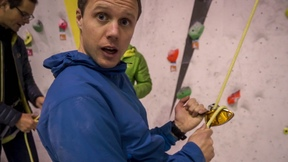 Testing The Petzl GriGri+ At Chris Sharma's Gym - Vlog 33