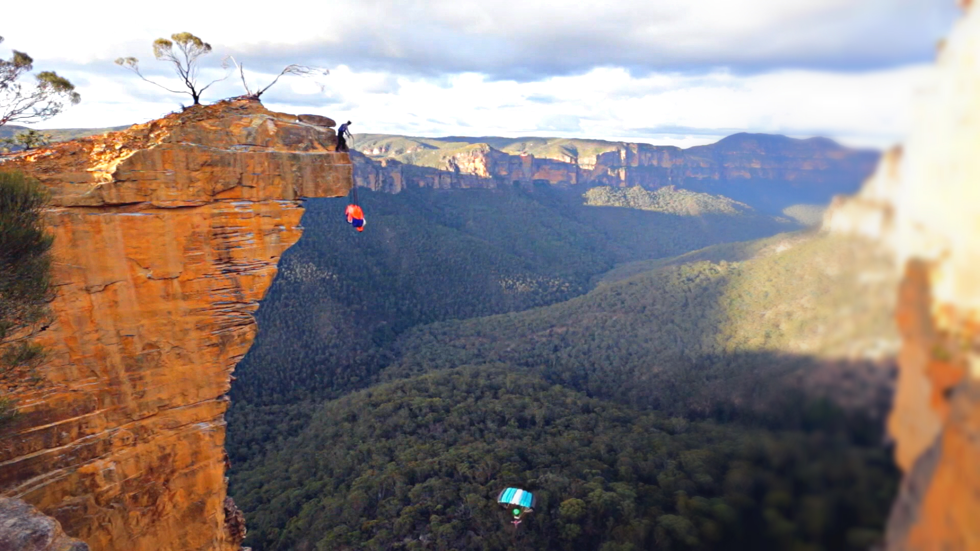 Epictv Video Bluetopia Climbing Trail Running And Base Jumping