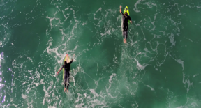 A Flying Discovery | Capturing The Freedom Of Surfers From Above