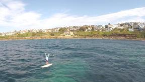 Paddle Boarding From Coogee To Bondi | A SUP Journey