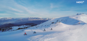 FAT BIKE On Snow With HEXO+