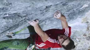 "Alex Luger Redpointing ""The Gift"" In The Rätikon Mountains Austria"