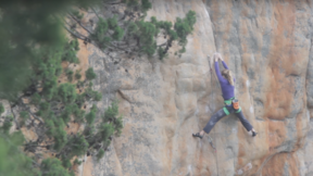 Mina Leslie Wujastyk Redpoint Attempt Of Punks In The Gym, 8b+