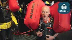 Mammut Alyeska Protection Airbag Vest - Best New Ski Gear ISPO 2014 | EpicTV Gear Geek