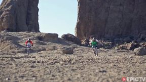 Ripping Down a Volcano - Mountain Biking Gran Canaria