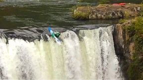 Kayaking Backwards into Massive Waterfalls - Fresh