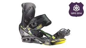 Salomon Defender Binding - Best New Snowboard Gear ISPO 2014 | EpicTV Gear Geek