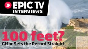 Garrett McNamara Sets the Record Straight on the '100-Foot' Wave