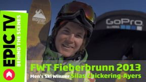 FWT Fieberbrunn 2013: Men's Ski Winner Silas Chickering-Ayers