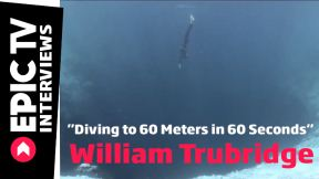 Diving to 60 Meters in 60 Seconds, Interview with William Trubridge