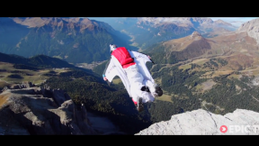 Fearless Wingsuit Pilots Buzz Rock Pillar | Long Live Roch!, Ep.2