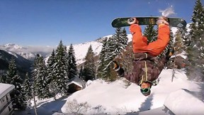 Snowboard Bums Invade French/Spanish Border, Ride Everything in Sight | SnowBums, Ep. 1