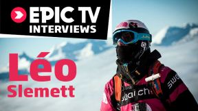 Léo Slemett Interview - Chamonix Freeskier's Rookie Year on the Freeride World Tour