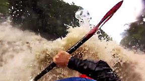 This Is what It's like to Kayak a Dangerously Flooded River | Water & People, Ep. 5