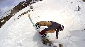 These Crazy Snowboarders Built an Awesome Bowl out of Ice and Rocks | Death Riders, Ep. 8