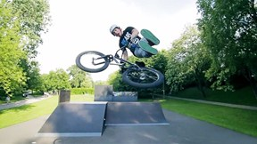 Rafal Kierc, BMX Skatepark Rider Bleeds Talent | Welcome to Poland, Ep. 1
