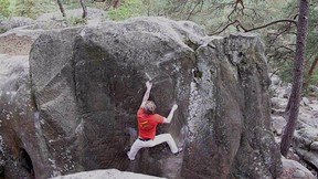 Monumendal (7A+) Dame Jouanne, Fontainebleau