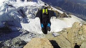 Longest Wingsuit Jump in the Alps, Over Taconnaz Glacier | Long Live Roch!, Ep. 6