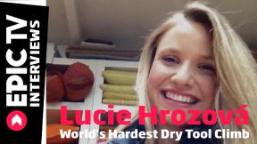 Lucie Hrozová and the World's Hardest Dry Tool Climb