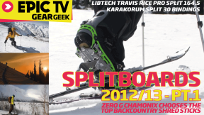 EpicTV Gear Geek: LibTech T-Rice Splitboard & Karakoram Split 30 Bindings