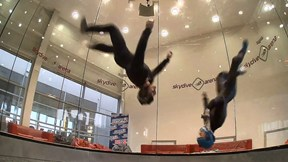 If You Can't BASE Jump Try Indoor Skydiving | Aerial Chronicles of a Venetian, Ep. 9
