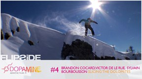 Brandon Cocard, Victor de Le Rue, Sylvain Bourbousson - SLICING THE DOLOMITES | Flipside 2013, Ep. 4