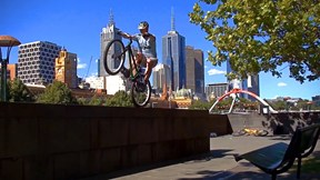 Two Trials Bikers Go to Melbourne...Then Things Get Awesome