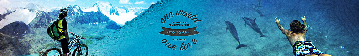 ONE WORLD ONE LOVE with Tito Tomasi