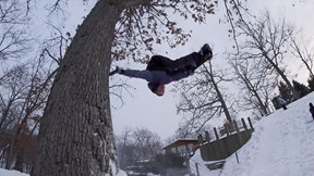 Beer and Benches Make for Fun Snowboarding in Minnesota | Grindhouse Hallucinate, Ep. 1