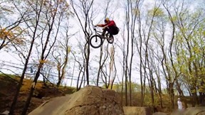 Dawid Godziek Rides a Dirt Jumping Paradise in the Woods of Poland | Dirty Spots with Godziek, Ep. 4