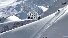 Extreme Snowboarder Roch Malnuit Slaying Steep Lines in Chamonix | Long Live Roch!, Ep. 1