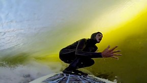 One of the Best Waves on Planet Filmed from Inside, Skeleton Bay | W.H.O. is Punk, Ep. 7