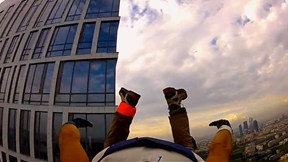 Guerrilla BASE Jumpers Storm the Tallest Buildings in Moscow | Full Satisfaction, Ep. 3