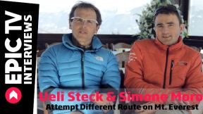 Ueli Steck and Simone Moro Attempt Different Route on Mt Everest
