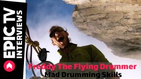 Freddy The Flying Drummer: Mad Drumming Skills