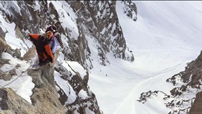 Aiguille du Midi Wingsuit Flight Leaves Tourists Speechless
