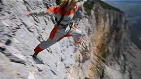 Freesolo Climber Falls... into BASE Jump - Most Dangerous Multi-Sport? | Freesolo, Ep. 6