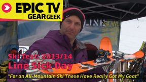 Ski Test: Line Sick Day 2014 Skis