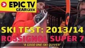 Ski Test: Rossignol Super 7 2014 Skis