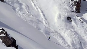 Phil Meier Sets Off a Huge Avalanche and Skis Out Like a Boss | 100% Skiing, Ep. 1
