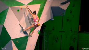 Climbing in the Olympics 2020