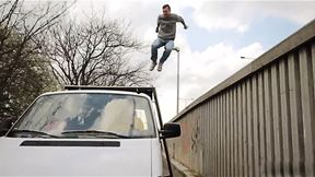 Parkour on a Moving Vehicle - Don't Try this at Home | Freerun Stories, Ep. 2