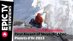 Mick Fowler, Paul Ramsden - First Ascent of Shiva (6142m) - Piolets d'Or 2013 Winner