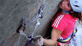 Babsi Zangerl Climbs 9-Pitch Super Cirill - EpicTV Climbing Daily