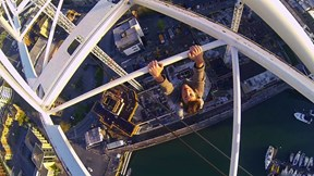 Don't Look Down! James Kingston Crane Climber & Freerunner Coming Soon to EpicTV