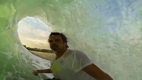 This Guy Takes Awesome Selfies While Getting Ridiculously Barreled | W.H.O. is Punk, Ep. 13