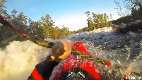 Big white water freestyle kayaking - Fresh Melt Episode 1